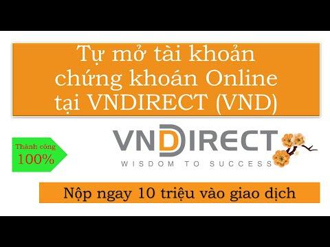 Hướng dẫn: Tự mở tài khoản chứng khoán Online tại Vndirect (VND) | Foci