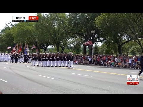 FULL: 2019 National Independence Day Parade From Washington, DC 7/4/19