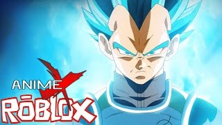 PRINCE VEGETA ARRIVES!! || ROBLOX Anime Cross (Roblox Anime Crossover Game)
