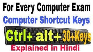 Computer shortcut keys in Hindi/Urdu | shortcut keys of computer | keyboard shortcuts keys |