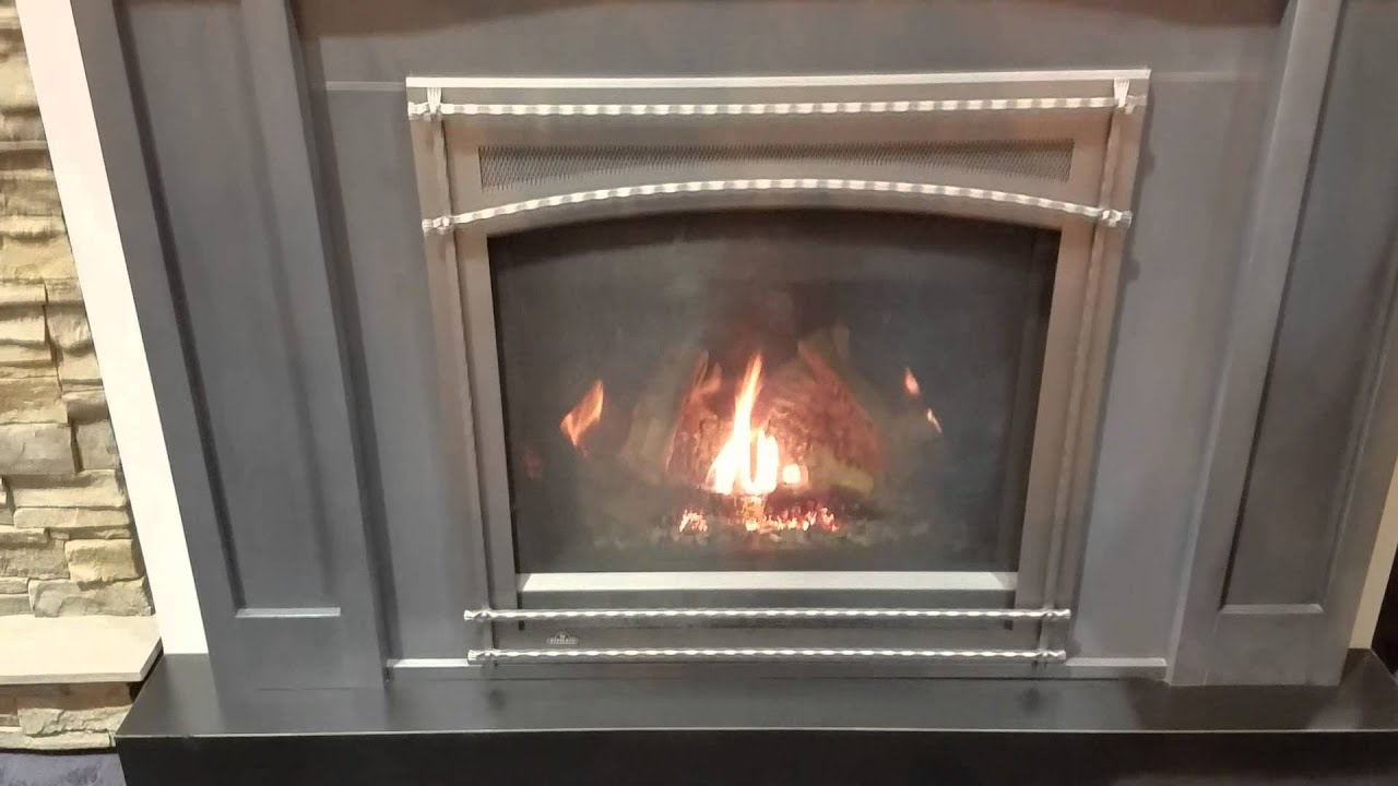 napoleon ascent x36 gas fireplace youtube