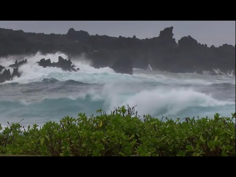 Hurricane Lane, Category 4 storm, barrels toward Hawaii