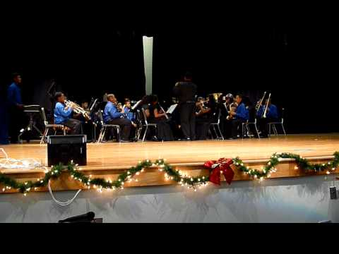 Colonial Middle School - (Blue Band) Christmas Time Is Here, Christmas 2011 Program