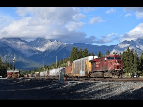 Railfanning the CP Laggan Sub (Canmore, Banff, Kicking Horse Pass)