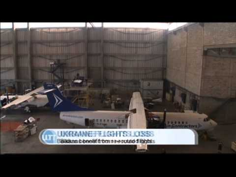 Unsafe Ukraine Airspace Losses: Flights re-routed to Balkans boosting Serbian revenues