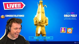 Unlocking FULLY GOLD BANANA In Fortnite!