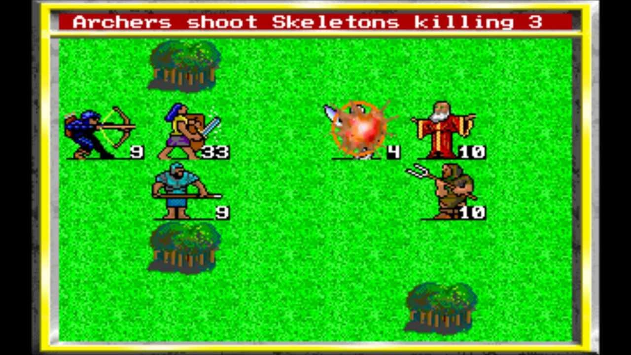 Znalezione obrazy dla zapytania king's bounty 1990