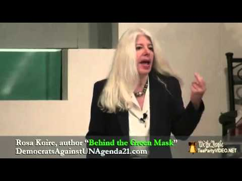 Behind the Green Mask - Exposing Agenda 21 - Rosa Koire