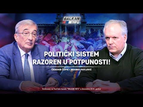AKTUELNO: Politički sistem razoren u potpunosti – Čedomir Čupić i Branko Pavlović (29.12.2018)