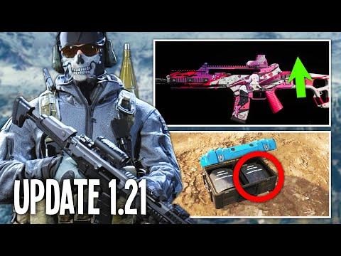 Das NEUE WARZONE UPDATE Ist DA! (Patch 1.21 Für Warzone Und Modern Warfare)