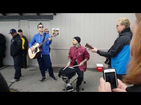Family reunion Blink-182 acoustic Utah