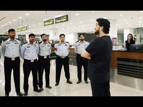 Minister Shehryar Afridi Surprise Visit to the New Islamabad Airport and Town Police Station