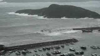 颱風黑格比(香港仔深灣)