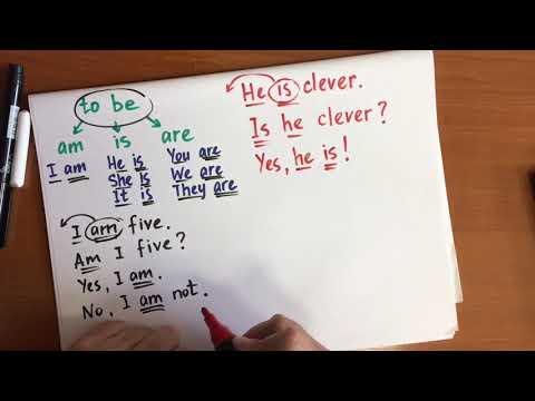 Общий вопрос с глаголом To Be - 3, 4, 5 класс английский язык