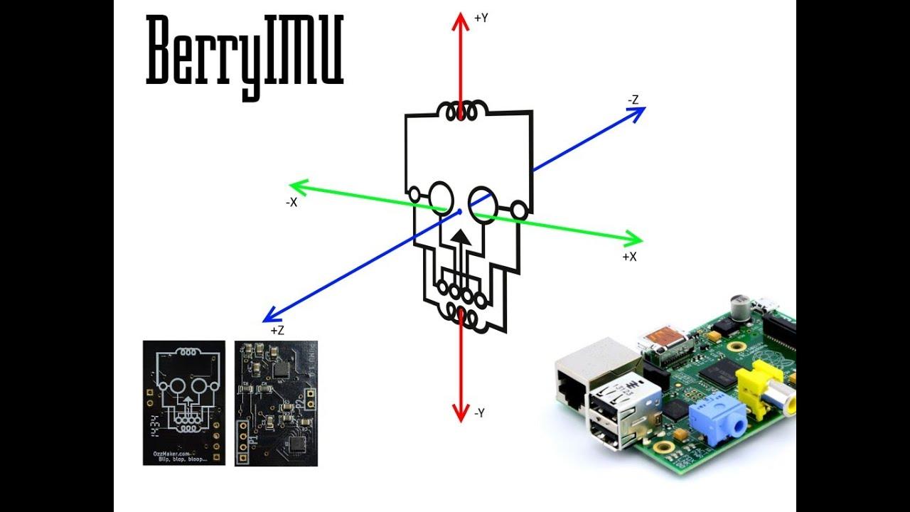 BerryIMU - IMU for the Raspberry Pi