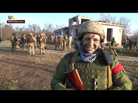 Military Drills in Zhytomyr