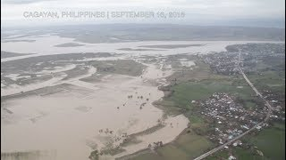 Aerial images show extent of typhoon damage in Cagayan