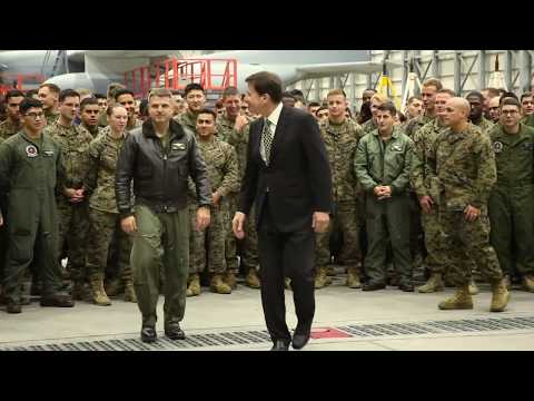U.S. Ambassador to Japan visits MCAS Iwakuni