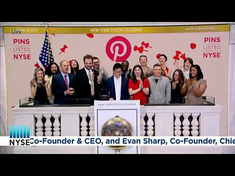 PINTEREST, INC. (NYSE: PINS) CELEBRATES THEIR IPO