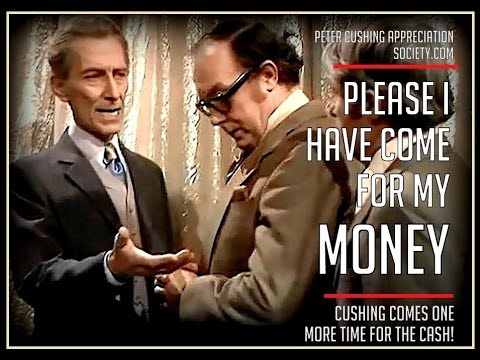 Peter Cushing on Morecambe and Wise