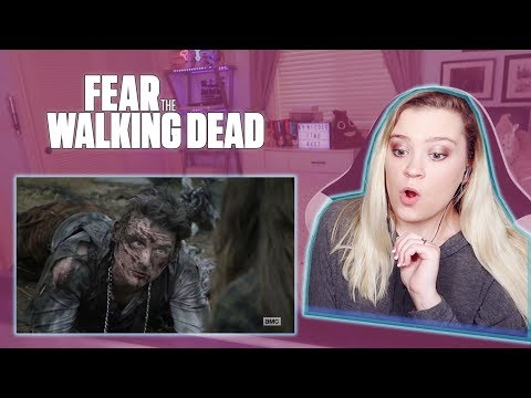 "Fear The Walking Dead Season 4 Episode 7 ""The Wrong Side"" REACTION!"