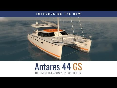 New Antares 44 GS Catamaran.  Guided tour and review.  Built to be a live-aboard world cruising boat
