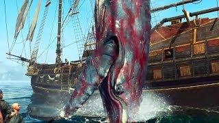 Assassin's Creed IV Black Flag: Caçando Baleias (Orca e Jubarte) - Xbox 360 / PS3 HD gameplay