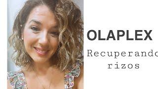 Tratamiento Olaplex. Recuperando rizos