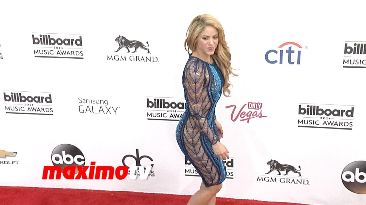 Shakira 2014 Billboard Music Awards Red Carpet Arrivals