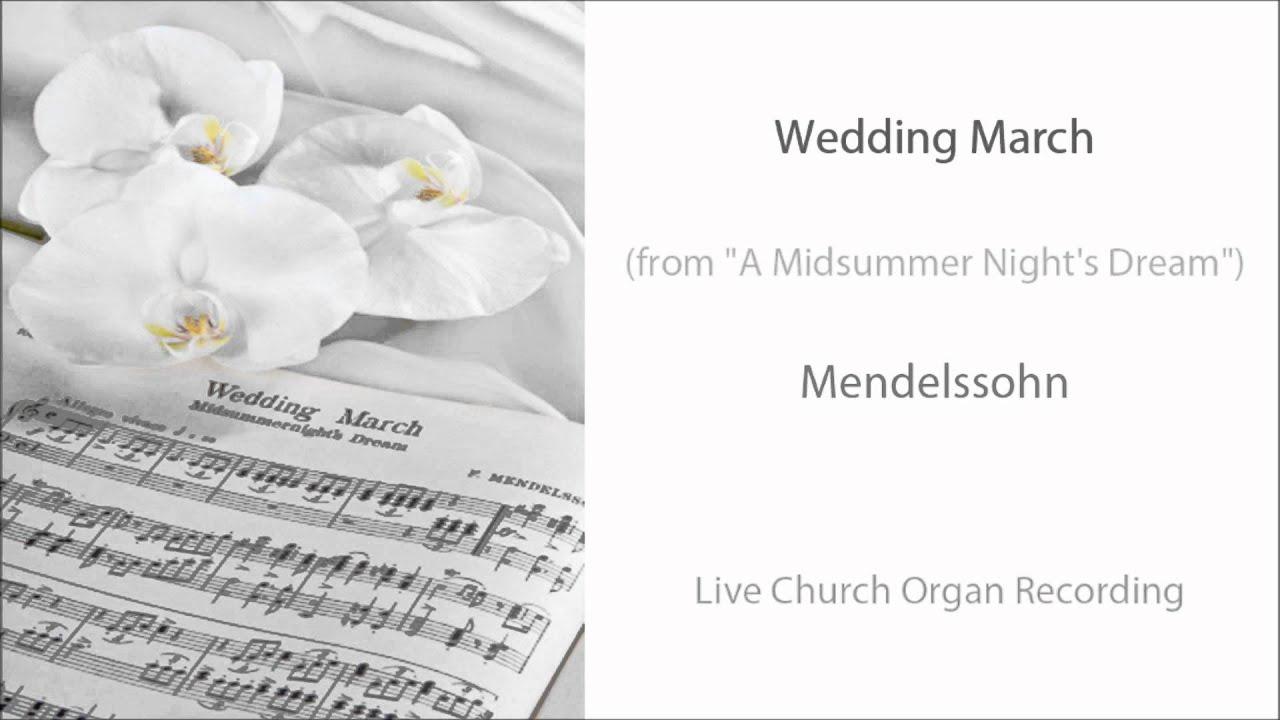 Wedding Recessional Music.Wedding March Organ Wedding Recessional Music