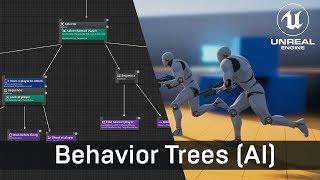 Unreal Engine AI Tutorial: Erstellen der Künstlichen Intelligenz mit Verhalten, Bäume