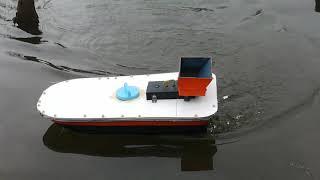 кораблик для рыбалки