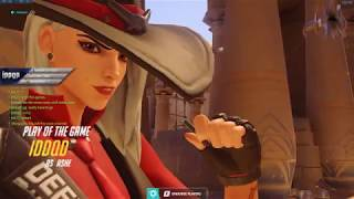 Overwatch IDDQD Showing His Sick Ashe Aim Skills -Feat mL7-
