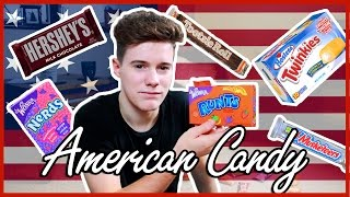 One of SamKingftw's most viewed videos: BRITISH BOY TRIES AMERICAN CANDY