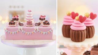 Dessert Table Cake + Miniature Decorations Tan Dulce