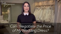 Can I Negotiate the Price of My Wedding Dress?