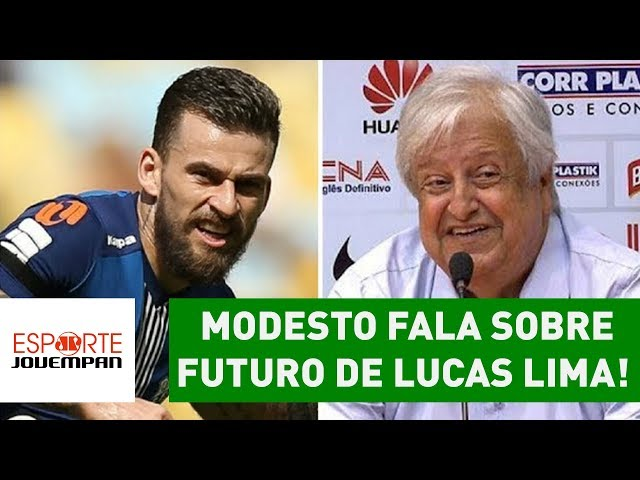 Palmeiras? São Paulo? Modesto fala sobre futuro de Lucas Lima!