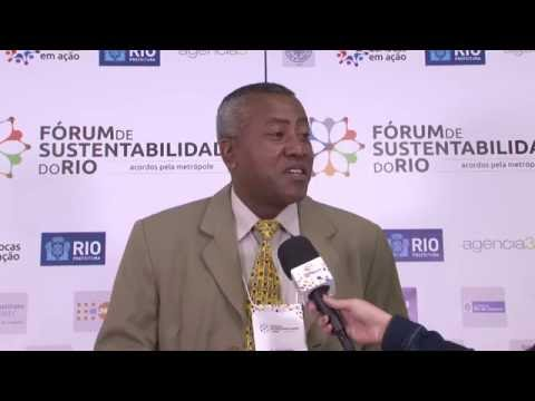 Entrevista com Rumba Gabriel no Fórum de Sustentabilidade do Rio