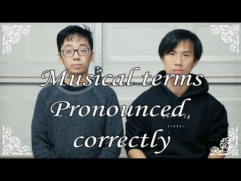 MUSICAL TERMS THAT YOU SHOULD KNOW.