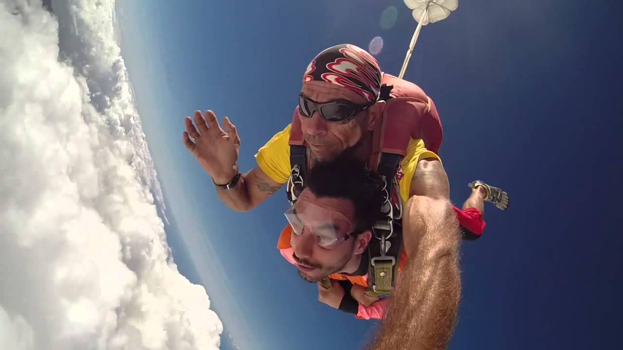 parachutisme ile maurice