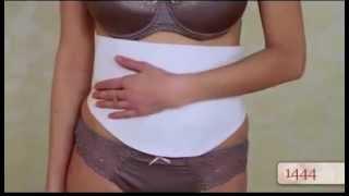 видео послеродовой  бандаж