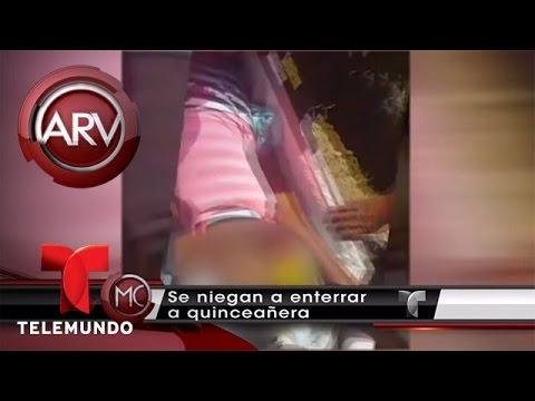 Se niegan a enterrar a su hija porque la creían viva | Al Rojo Vivo | Telemundo