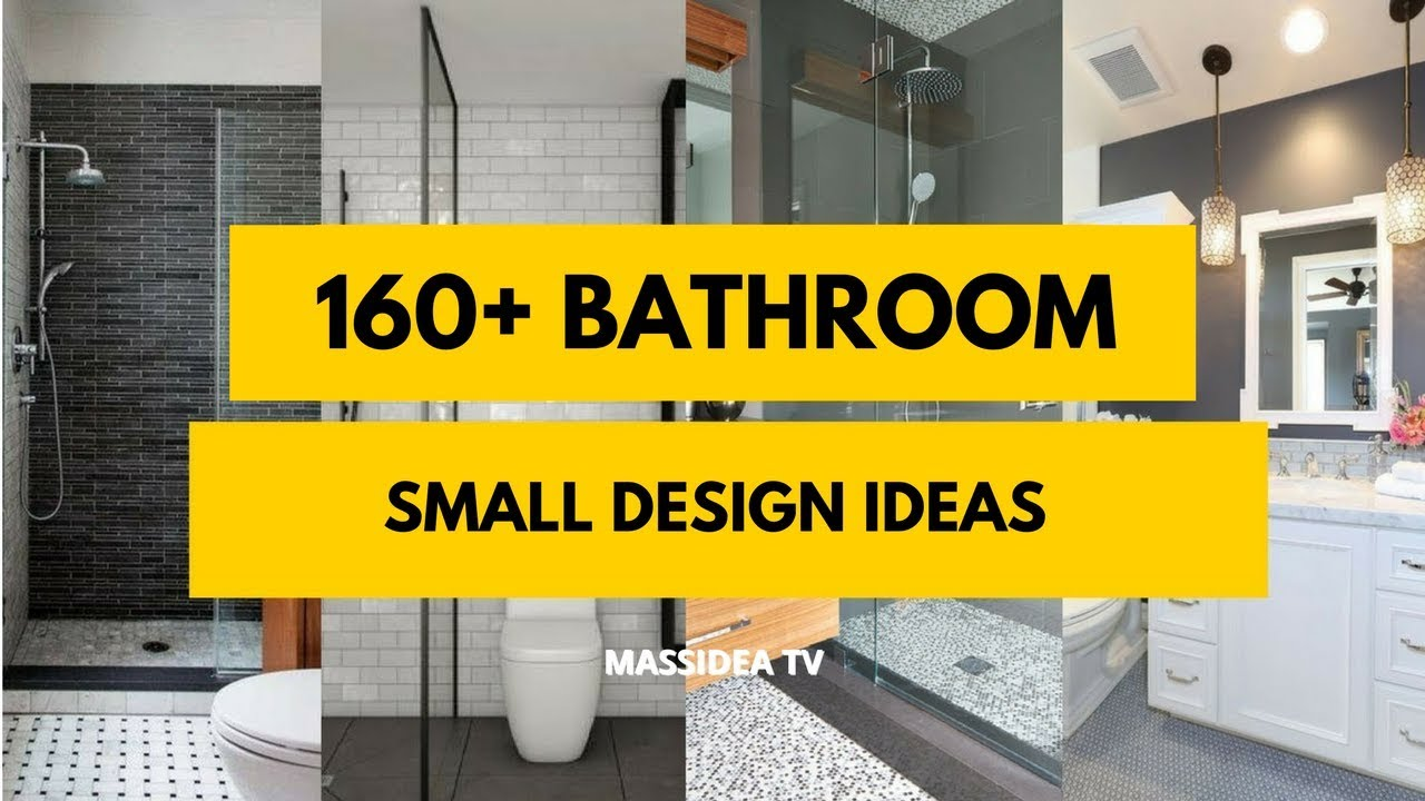 160 Best Small Bathroom Design Ideas 2018 Makeover Remodel Youtube