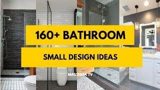160+ Best Small Bathroom Design ideas 2018 [ Makeover +  Remodel ]