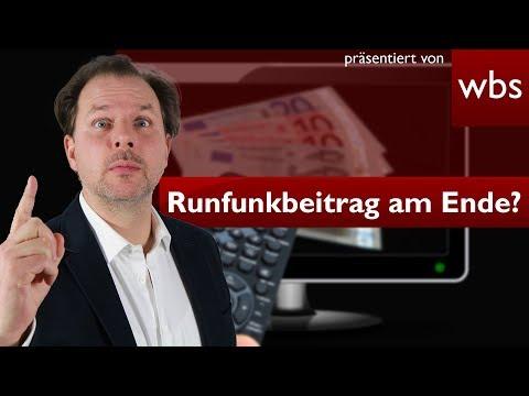 Rundfunkbeitrag eine versteckte Steuer? - BVerfG urteilt morgen! | Rechtsanwalt Christian Solmecke