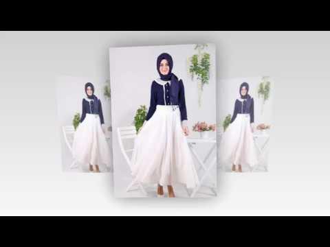 Inspirasi Desain Baju Muslim Modern Untuk Ke Pesta Terbaru ...