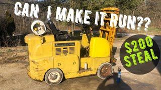 I Bought The Cheapest FORKLIFT on Marketplace!!!