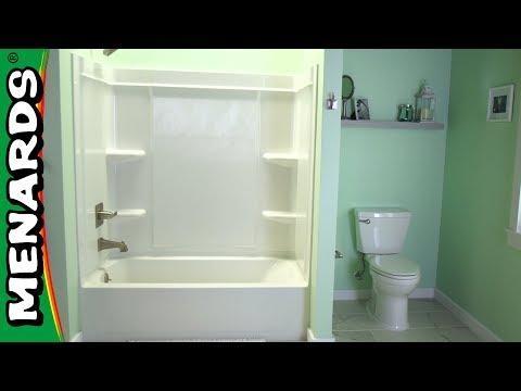 How to Install a Shower Surround - Menards