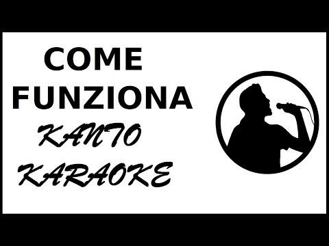 come funziona kanto karaoke programma karaoke alternativo a vanbasco