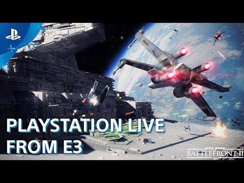 Star Wars Battlefront II - Live Interview | E3 2017